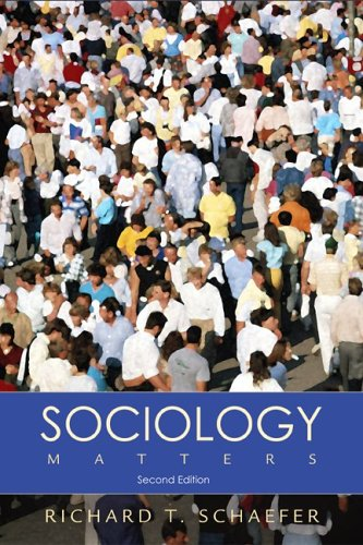 9780073207254: Sociology Matters with PowerWeb