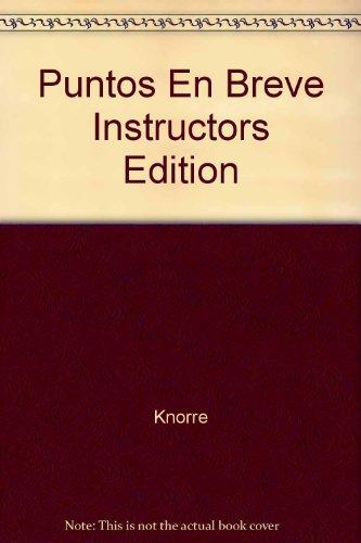 9780073208275: Puntos En Breve Instructors Edition