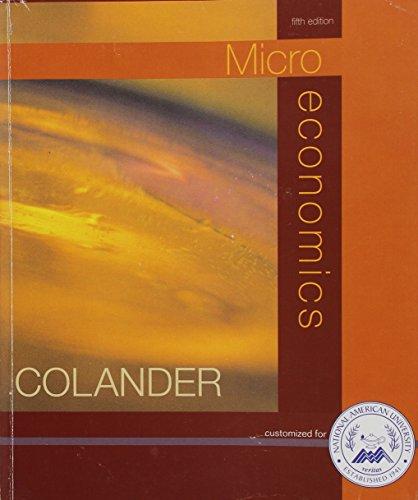 9780073208633: Microeconomics