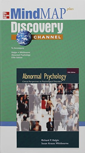 9780073208930: Mind MAP to accompany Abnormal Psychology