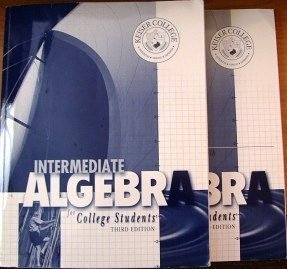 9780073209364: Intermediate Algebra for College Students Set of Two: Workbook and Student Solutions Manual Edition: third