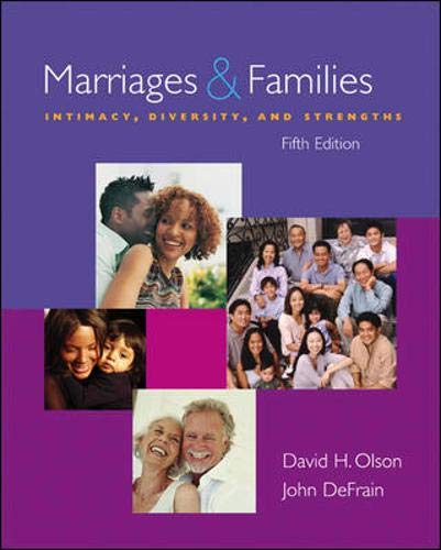 9780073209517: Marriages and Families: Intimacy, Diversity, and Strengths with OLC