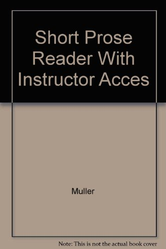 9780073209616: Short Prose Reader With Instructor Acces