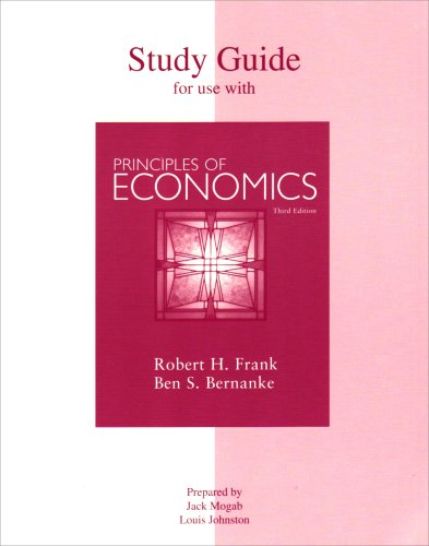 9780073210063: Study Guide to accompany Principles of Economics