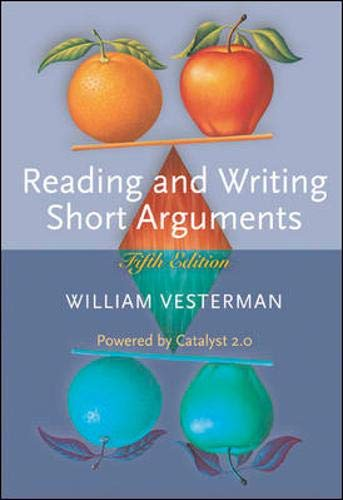 9780073210407: Reading and Writing Short Arguments (Powered by Catalyst 2.0)