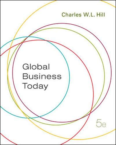 9780073210544: Global Business Today