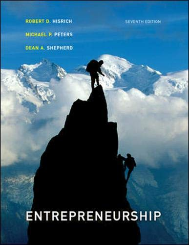 9780073210568: Entrepreneurship