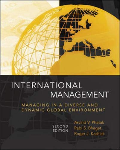 9780073210575: International Management: Managing in a Diverse and Dynamic Global Environment