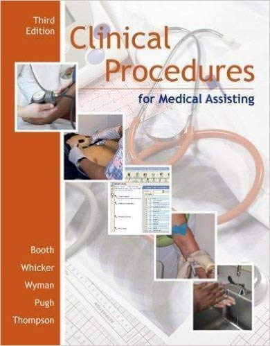 9780073211466: Clinical Procedures for Medical Assisting, 3e