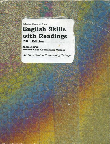 9780073211541: Selected Material from English Skills with Readings