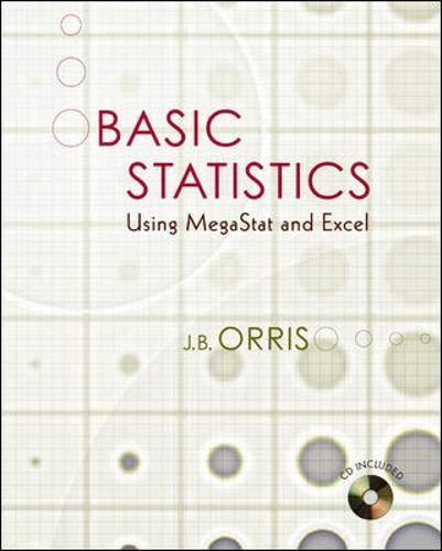 9780073211589: Basic Statistics Using Excel and MegaStat w Student CD