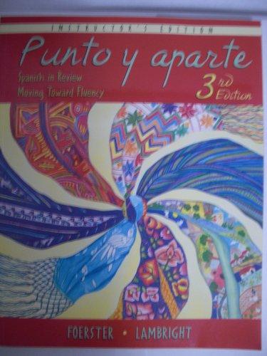 9780073211961: Punto Y Aparte Instructors Edition