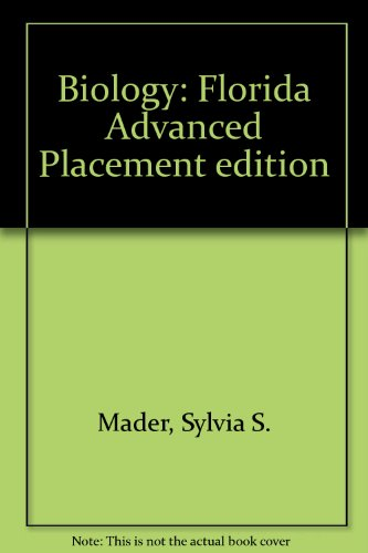 9780073212043: Biology: Florida Advanced Placement edition