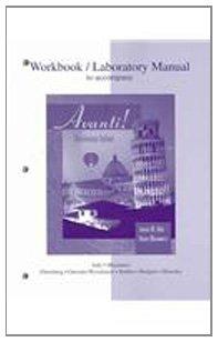 9780073212074: Workbook/Laboratory Manual t/a Avanti
