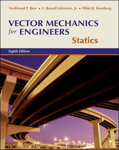 9780073212197: Vector Mechanics for Engineers: Statics