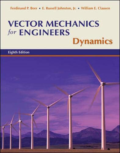 9780073212203: Vector Mechanics for Engineers: Dynamics