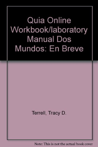 9780073212593: Quia Online Workbook/Laboratory Manual Access Card for Dos Mundos: En breve