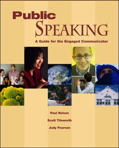 9780073212777: Public Speaking: A Guide for the Engaged Communicator with Student CD-ROM
