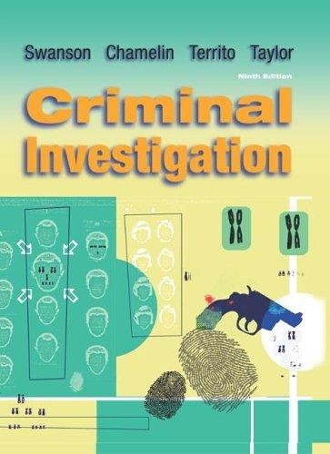 9780073212784: Criminal Investigation