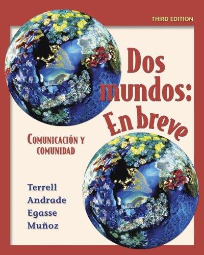 9780073213415: Dos mundos en breve Student Edition