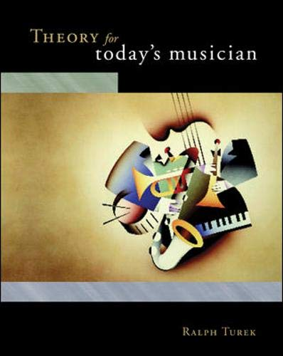 9780073215204: Theory for Today's Musician: With CD-ROM and Workbook
