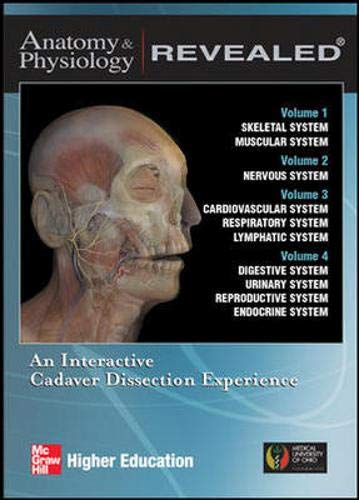 9780073215532: Anatomy & Physiology Revealed CDs 1-4 complete series