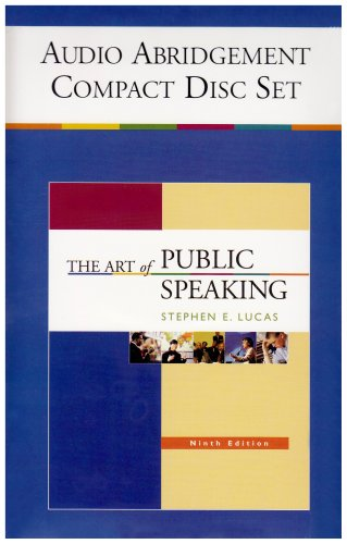 9780073216508: The Art of Public Speaking