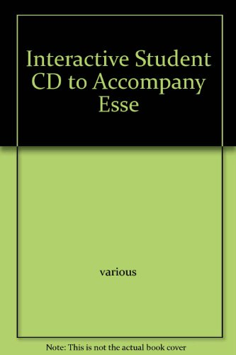 Interactive Student CD to Accompany Esse: Mader