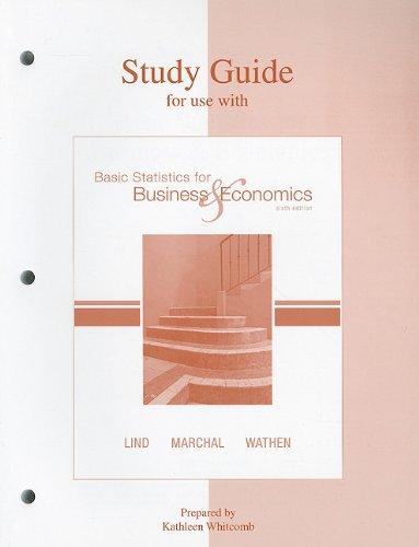 Lind Basis Statistics: Kathleen Whitcomb, Douglas
