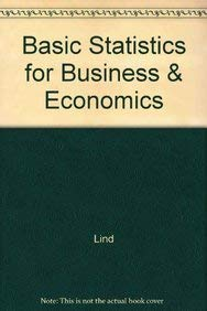 9780073217840: Basic Statistics for Business & Economics