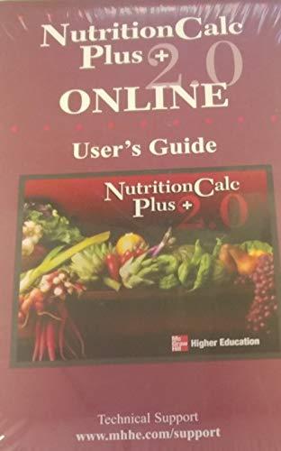 9780073219240: NutritionCalc Plus 2.0 Online Standalone