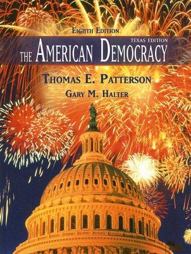 9780073219363: The American Democracy, Texas Edition