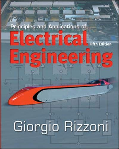 9780073220338: Principles and Applications of Electrical Engineering