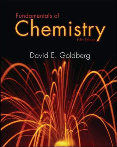 9780073221045: Fundamentals of Chemistry