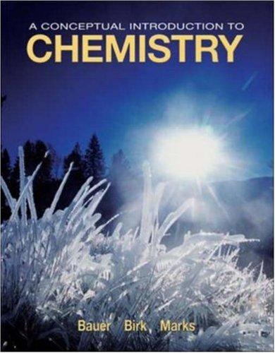 9780073221069: A Conceptual Introduction to Chemistry