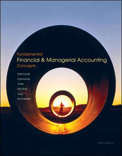 Fundamental Financial and Managerial Accounting Concepts with: Edmonds, Thomas, Edmonds,