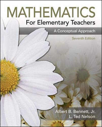 9780073224626: Mathematics for Elementary Teachers: A Conceptual Approach