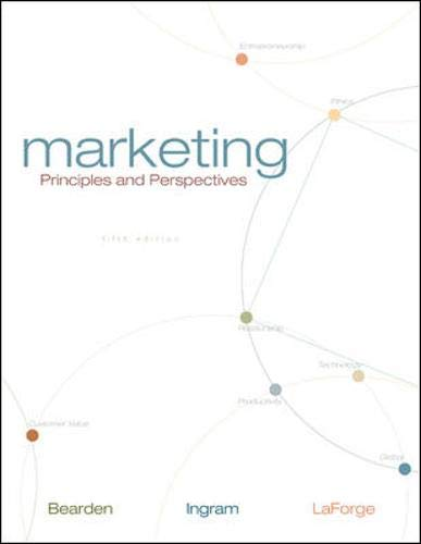 9780073225692: Marketing: Principles and Perspectives (Paperback) with Online Learning Center Premium Content Card + SmartSims