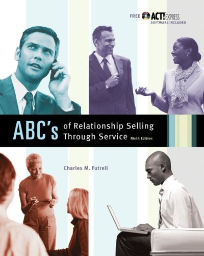 9780073225739: MP ABCs of Relationship Selling w/ ACT! Express CD