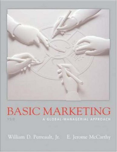 9780073226378: Basic Marketing W/Applications in Basic Marketing: Global-Managerial Approach (No. 1)