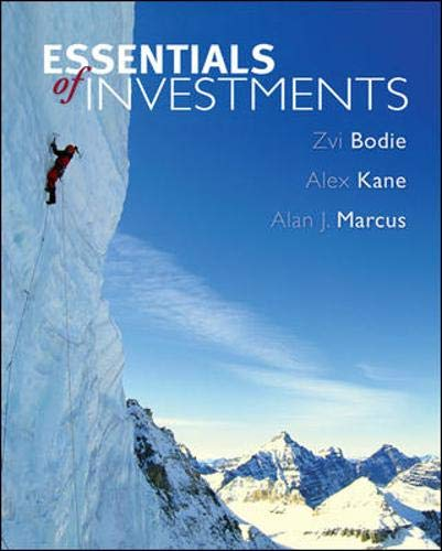 9780073226385: Essentials of Investments with Standard & Poor's Bind-in Card