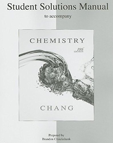 9780073226743: Student Solutions Manual to accompany Chemistry