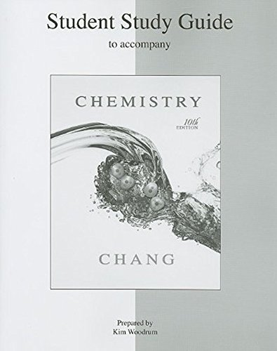9780073226767: Student Study Guide to accompany Chemistry
