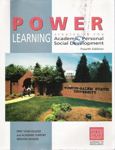 9780073227719: Power Learning: Stratgies for Academic, & Personal Social Development (Winston Salem State University)