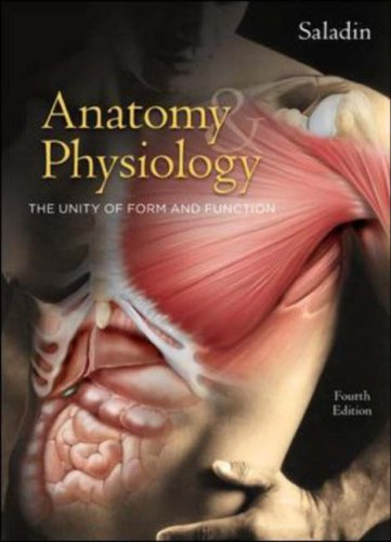 9780073228044: Anatomy & Physiology: The Unity of Form and Function 4th Edition