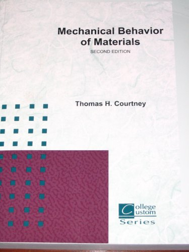9780073228242: Mechanical Behavior of Materials, 2nd Edition
