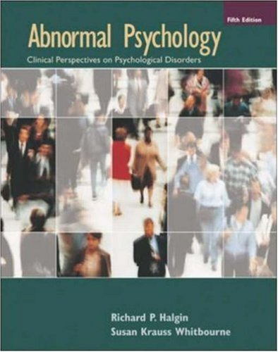 9780073228723: Abnormal Psychology with MindMap II CD-ROM and PowerWeb
