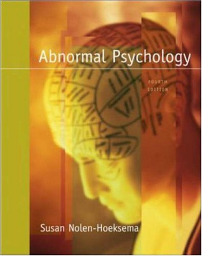9780073228730: Abnormal Psychology with MindMap CD-ROM and PowerWeb