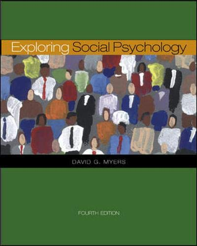 9780073228877: Exploring Social Psychology with PowerWeb