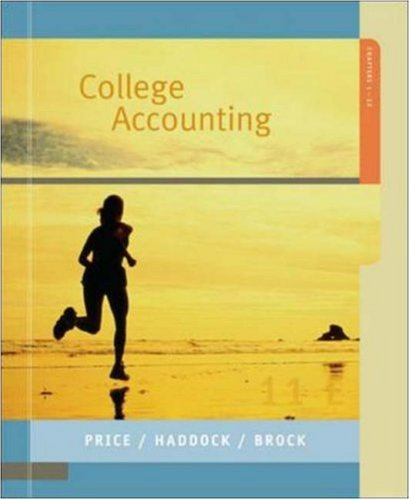 9780073229362: MP College Accounting 1-32 w/Home Depot AR: Chapters 1-32